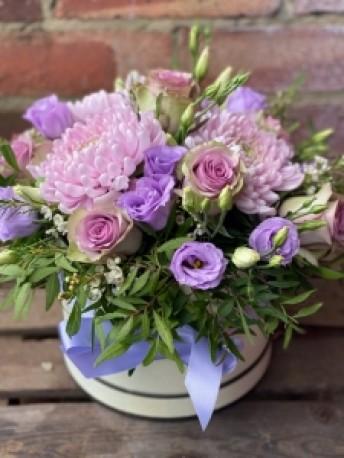 Lilac Hat box